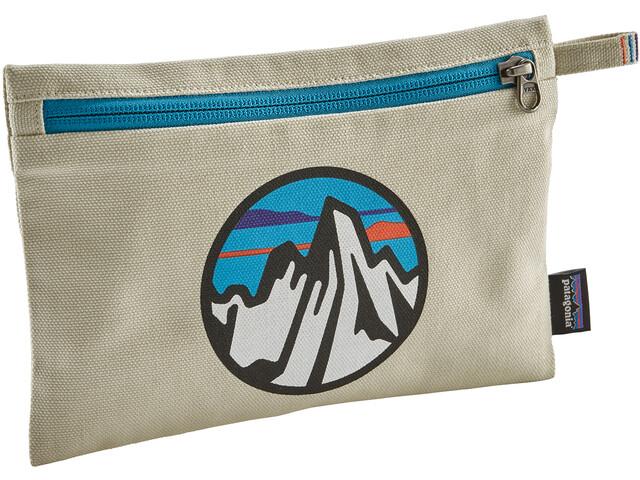 Patagonia Zippered Laukku, fitz roy scope icon/bleached stone